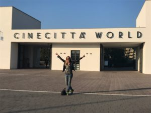 Cinecittà World.Entrata