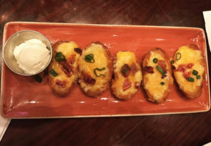 Hard Rock Cafe - potato skin