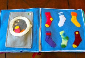 Libri tattili - lavatrice