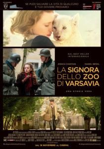 La Signora dello zoo di Varsavia - Locandina